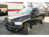 2004 Black Dodge Ram 1500 SLT Regular Cab 4x4 #46936615