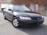 2002 Nighthawk Black Pearl Honda Accord EX V6 Sedan #46936999