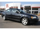2001 Volkswagen Passat Black Magic Pearl