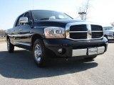 2007 Brilliant Black Crystal Pearl Dodge Ram 1500 Laramie Mega Cab #46936900