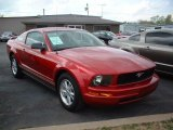 2006 Redfire Metallic Ford Mustang V6 Deluxe Coupe #46936912
