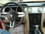 2006 Ford Mustang V6 Deluxe Coupe Dashboard
