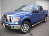 2011 Blue Flame Metallic Ford F150 XLT SuperCrew 4x4 #46936647