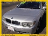 2003 Titanium Silver Metallic BMW 7 Series 745Li Sedan #46936838