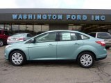 2012 Frosted Glass Metallic Ford Focus SE Sedan #46936840