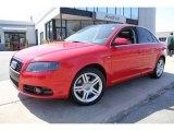 2008 Brilliant Red Audi A4 2.0T quattro Sedan #46957553