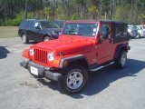 2006 Flame Red Jeep Wrangler Unlimited 4x4 #46957651