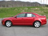 2011 Red Candy Metallic Ford Fusion SE #46957514