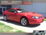 2003 Torch Red Ford Mustang GT Coupe #46957635