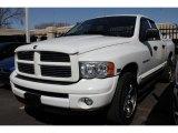 2004 Bright White Dodge Ram 1500 SLT Sport Quad Cab 4x4 #46957690