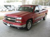 2007 Victory Red Chevrolet Silverado 1500 Classic LS Extended Cab #46966964