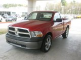 2009 Flame Red Dodge Ram 1500 ST Regular Cab #46966966