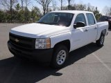 2011 Summit White Chevrolet Silverado 1500 Crew Cab #46967104