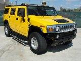 2006 Hummer H2 Yellow