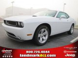 2011 Bright White Dodge Challenger SE #46966740