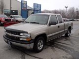 2002 Light Pewter Metallic Chevrolet Silverado 1500 Extended Cab #46967050