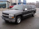 2001 Medium Charcoal Gray Metallic Chevrolet Silverado 1500 LS Extended Cab #46967053