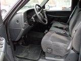 2001 Chevrolet Silverado 1500 LS Extended Cab Graphite Interior