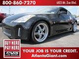 2004 Super Black Nissan 350Z Coupe #46967180