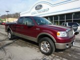 2006 Dark Toreador Red Metallic Ford F150 Lariat SuperCab 4x4 #46966793