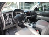 2008 Toyota Tundra Limited CrewMax Graphite Gray Interior