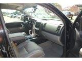 2008 Toyota Tundra Limited CrewMax Graphite Gray Interior