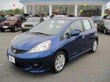2011 Vortex Blue Pearl Honda Fit Sport #46966937