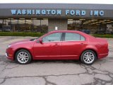 2011 Red Candy Metallic Ford Fusion SEL V6 #47005656