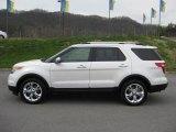 2011 White Platinum Tri-Coat Ford Explorer Limited 4WD #47005291