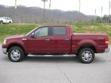 2006 Dark Toreador Red Metallic Ford F150 Lariat SuperCrew 4x4 #47005294