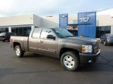2011 Taupe Gray Metallic Chevrolet Silverado 1500 LT Extended Cab 4x4 #47005473