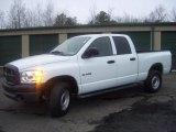 2008 Bright White Dodge Ram 1500 ST Quad Cab 4x4 #47005323