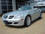 2007 Mercedes-Benz SLK Iridium Silver Metallic