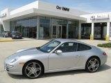 2008 GT Silver Metallic Porsche 911 Carrera Coupe #47005694