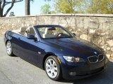 2007 Monaco Blue Metallic BMW 3 Series 335i Convertible #47005354