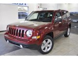 2011 Jeep Patriot Deep Cherry Red Crystal Pearl