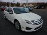 2011 White Suede Ford Fusion SEL V6 AWD #47005371