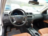 2011 Ford Fusion SEL V6 AWD Ginger Leather Interior