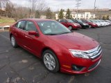 2011 Red Candy Metallic Ford Fusion SE #47005373