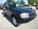 2003 Jeep Grand Cherokee Brilliant Black
