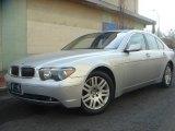 2003 Titanium Silver Metallic BMW 7 Series 745i Sedan #4695499