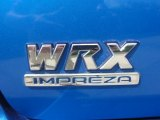 2002 Subaru Impreza WRX Sedan Marks and Logos