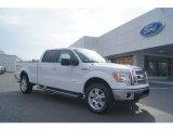 2011 Oxford White Ford F150 Lariat SuperCrew 4x4 #47005426