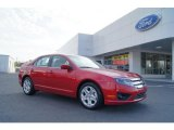 2011 Red Candy Metallic Ford Fusion SE #47005427