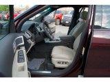 2011 Ford Explorer Limited Medium Light Stone Interior