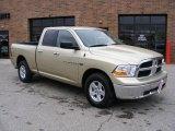 2011 White Gold Dodge Ram 1500 SLT Quad Cab 4x4 #47005215