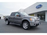 2011 Sterling Grey Metallic Ford F150 Lariat SuperCrew 4x4 #47005430