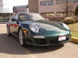 2009 Porsche 911 Porsche Racing Green Metallic