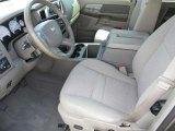 2007 Dodge Ram 1500 SLT Quad Cab Khaki Beige Interior