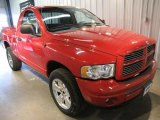 2002 Flame Red Dodge Ram 1500 SLT Regular Cab 4x4 #47005790